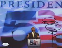 Herman Cain Signed 8x10 Photo (JSA COA) at PristineAuction.com