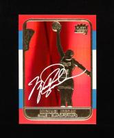 Michael Jordan 1998 Fleer Rookie 23KT Gold Card Red Holo Refractor at PristineAuction.com
