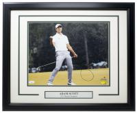 Adam Scott Signed 2013 Masters Champion 11x14 Custom Framed Photo Display (JSA COA) at PristineAuction.com