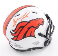 Drew Lock Signed Broncos Lunar Eclipse Alternate Speed Mini Helmet (Beckett COA) at PristineAuction.com