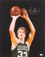 Larry Bird Signed Celtics 16x20 Photo (JSA COA) at PristineAuction.com
