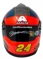 Jeff Gordon Signed NASCAR Axalta Mini Helmet (Beckett COA & Gordon Hologram) at PristineAuction.com