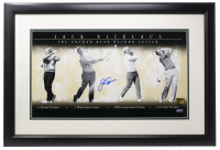Jack Nicklaus Signed 11x19 Custom Framed Photo Display (Steiner COA & Nicklaus Hologram) at PristineAuction.com