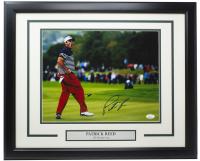 Patrick Reed Signed 16x20 Custom Framed Photo Display (JSA COA) at PristineAuction.com