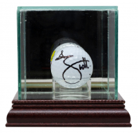 Adam Scott Signed Masters Logo Golf Ball with Display Case (JSA COA) at PristineAuction.com