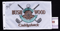 """Chevy Chase Signed """"Caddyshack"""" Bushwood Country Club Pin Flag (JSA COA) at PristineAuction.com"""
