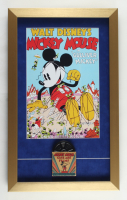 """Walt Disney's """"Gulliver Mickey"""" 14x23 Custom Framed Print Display with Vintage 1950s 8mm Disney Film with Original Packaging at PristineAuction.com"""