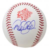 Derek Jeter Signed 1998 World Series Baseball (MLB Hologram) at PristineAuction.com