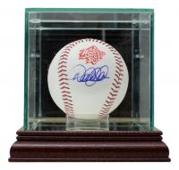 Derek Jeter Signed 1998 World Series Baseball with Display Case (MLB Hologram) at PristineAuction.com