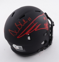 Drew Bledsoe Signed Patriots Eclipse Alternate Speed Mini Helmet (Beckett Hologram) at PristineAuction.com