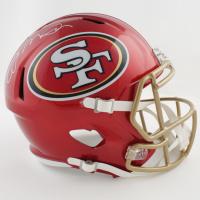 Joe Montana Signed 49ers Full-Size Flash Alternate Speed Helmet (Fanatics Hologram) at PristineAuction.com