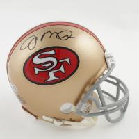 Joe Montana Signed 49ers Mini Helmet (Fanatics Hologram) at PristineAuction.com