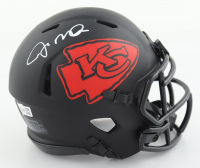 Joe Montana Signed Chiefs Eclipse Alternate Speed Mini Helmet (Fanatics Hologram) at PristineAuction.com