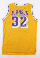 Magic Johnson Signed Lakers Jersey (Johnson COA) at PristineAuction.com