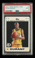 Kevin Durant 2007-08 Topps Rookie Set #2 RC (PSA 9) at PristineAuction.com