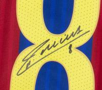 Andres Iniesta Signed Barcelona Jersey (Beckett COA & Fanatics Hologram) at PristineAuction.com