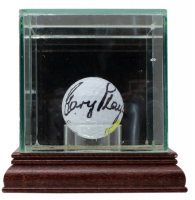 Gary Player Signed Masters Logo Golf Ball with Display Case (JSA COA) at PristineAuction.com