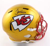 Tyreek Hill Signed Chiefs Full-Size Flash Alternate Speed Helmet (Beckett Hologram) at PristineAuction.com