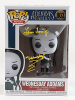 """Lisa Loring Signed """"The Adams Family"""" #803 Wednesday Adams Funko Pop! Vinyl Figure Inscribed """"Wednesday"""" (PSA COA) at PristineAuction.com"""