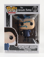 "Lisa Loring Signed ""The Adams Family"" #811 Wednesday Adams Funko Pop! Vinyl Figure Inscribed ""Original Goth Girl Wednesday"" (PSA COA) at PristineAuction.com"