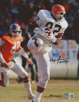 """Ozzie Newsome Signed Browns 8x10 Photo Inscribed """"HOF 99"""" (Beckett COA) at PristineAuction.com"""