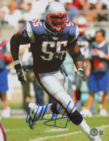 Willie McGinest Signed Patriots 8x10 Photo (Beckett COA) at PristineAuction.com