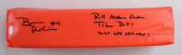"Brian Robinson Jr. Full-Size Pylon Inscribed ""Roll Motha F***** Tide Roll"" & ""2021 CFP Champs"" (JSA COA) at PristineAuction.com"