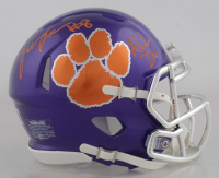 """Justyn Ross Signed Clemson Tigers Speed Mini Helmet Inscribed """"All In"""" (Beckett COA) at PristineAuction.com"""