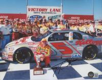 Terry Labonte Signed NASCAR 8x10 Photo (Beckett COA) at PristineAuction.com