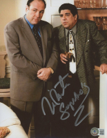 "Vincent Pastore Signed ""The Sopranos"" 8x10 Photo Inscribed ""Sopranos"" (Beckett COA) at PristineAuction.com"