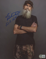 """Silas """"Si"""" Robertson Signed """"Duck Dynasty"""" 8x10 Photo (Beckett COA) at PristineAuction.com"""