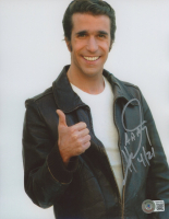 """Henry Winkler Signed """"Happy Days"""" 8x10 Photo Inscribed """"AAAY"""" & """"4/21"""" (Beckett COA) at PristineAuction.com"""
