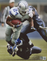 Marion Barber III Signed Cowboys 8x10 Photo (Beckett COA) at PristineAuction.com