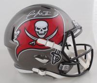 Ronald Jones II Signed Buccaneers Full-Size Speed Helmet (Beckett COA) at PristineAuction.com