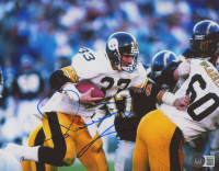 Merril Hoge Signed Steelers 8x10 Photo (Beckett COA) at PristineAuction.com