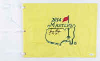 """Gary Player Signed 2014 Masters Golf Pin Flag Inscribed """"61, 74, 78"""" (JSA COA) (See Description) at PristineAuction.com"""