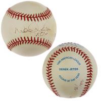 """Derek Jeter Signed LE OAL Baseball Inscribed """"ROY"""" (JSA LOA) at PristineAuction.com"""