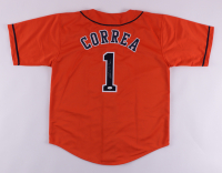 Carlos Correa Signed Jersey (JSA Hologram) at PristineAuction.com
