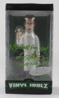 "Larry Thomas Signed ""Seinfeld"" Soup Nazi Vinyl Idolz Figure Inscribed ""No Soup for You!"" & ""Soup Nazi"" (PSA COA) at PristineAuction.com"