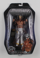 """Rey Mysterio Signed WWE Ruthless Aggression Series 19 Action Figure Inscribed """"W.H. Champ 6/9"""" (PSA COA) (See Description) at PristineAuction.com"""