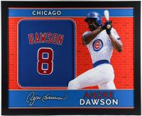 Andre Dawson Signed  35.5x43.5 Custom Framed Jersey Display (JSA Hologram) (See Description) at PristineAuction.com
