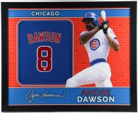 Andre Dawson Signed  35.5x43.5 Custom Framed Jersey (JSA Hologram) (See Description) at PristineAuction.com