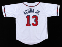 Ronald Acuna Jr. Signed Jersey (Beckett Hologram) at PristineAuction.com