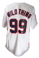"""Charlie Sheen Signed Jersey Inscribed """"Vaughn"""" (PSA COA) at PristineAuction.com"""