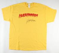 Hulk Hogan Signed Hulkamania T-Shirt (JSA COA) (See Description) at PristineAuction.com