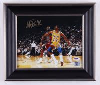 Magic Johnson Signed Lakers 11x13 Custom Framed Photo (PSA COA & Magic Hologram) at PristineAuction.com