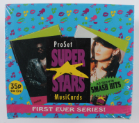 1991 Pro Set SuperStars MusiCards Box With (36) Packs at PristineAuction.com