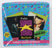 1991 Pro Set SuperStars MusiCards Box With (36) Packs (See Description) at PristineAuction.com