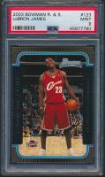 LeBron James 2003-04 Bowman #123 RC (PSA 9) at PristineAuction.com