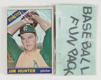 1966 Topps Baseball Fun Rack Pack with (10) Cards at PristineAuction.com
